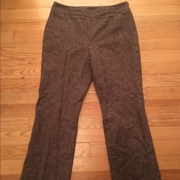 9f64414d9e Brooks Brothers Pants | Wool Brown Wide Leg Size 12 | Poshmark